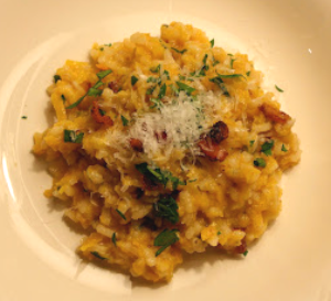 Roast Butternut Squash and Pancetta Risotto