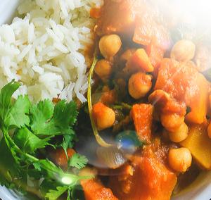 Hearty Pumpkin and Chickpea Stew